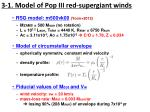 3 1 model of pop iii red supergiant winds
