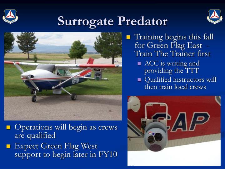 Surrogate Predator
