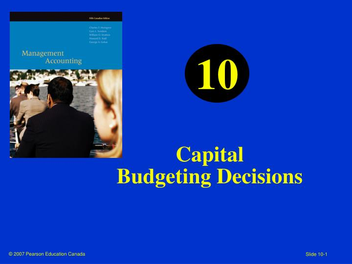 capital budgeting decision making tools essay