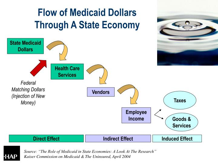 Flow of Medicaid Dollars