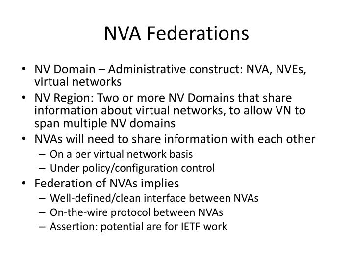 NVA Federations