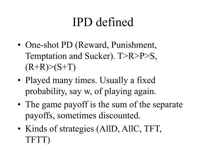 IPD defined