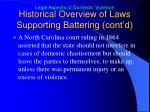 historical overview of laws supporting battering cont d1