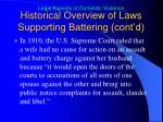 historical overview of laws supporting battering cont d4