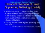 historical overview of laws supporting battering cont d5