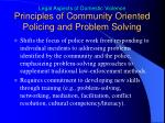 principles of community oriented policing and problem solving3