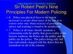sir robert peel s nine principles for modern policing2