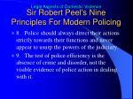 sir robert peel s nine principles for modern policing3