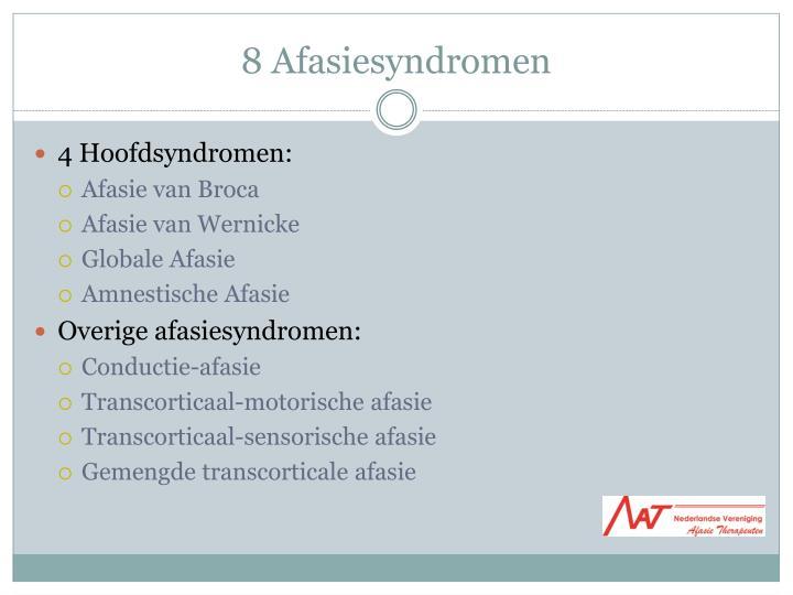 8 Afasiesyndromen
