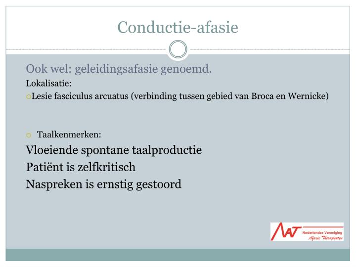Conductie-afasie