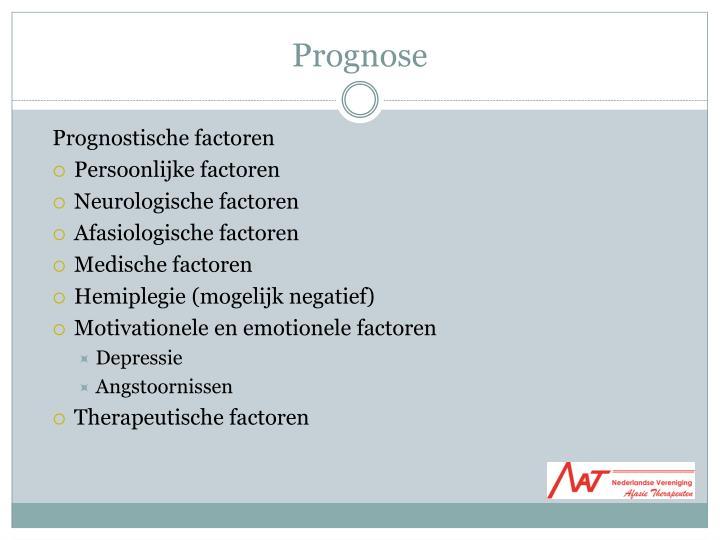 Prognose