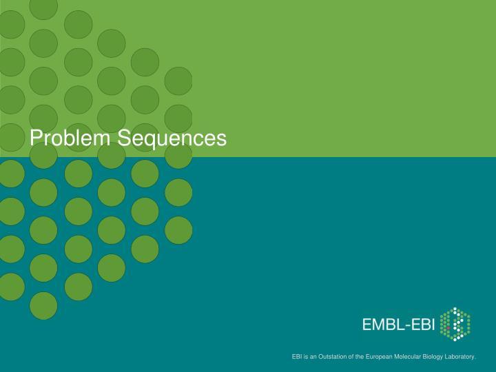 Problem Sequences