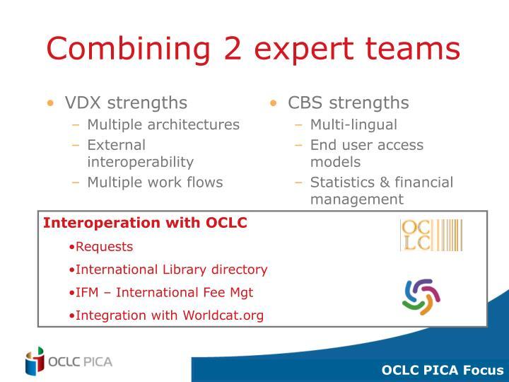 VDX strengths