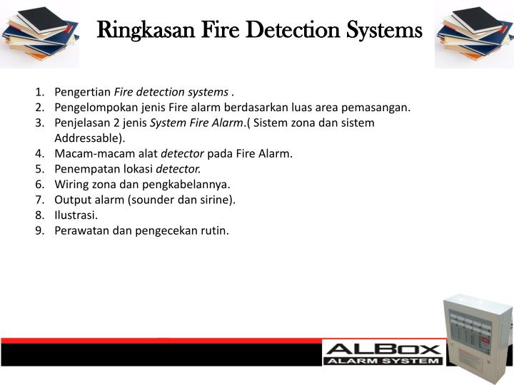 Ringkasan fire detection systems