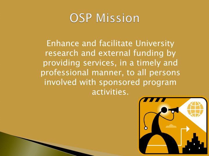 OSP Mission