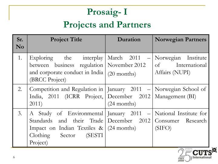 Prosaig- I