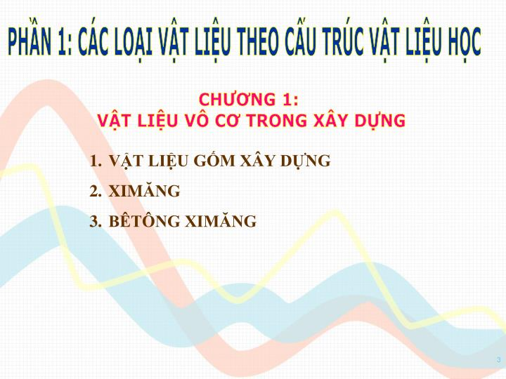 PHN 1: CC LOI VT LIU THEO CU TRC VT LIU HC