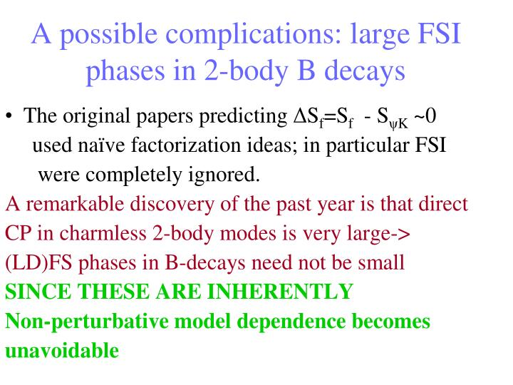 Flavor in the LHC era (CERN'05)         A. Soni