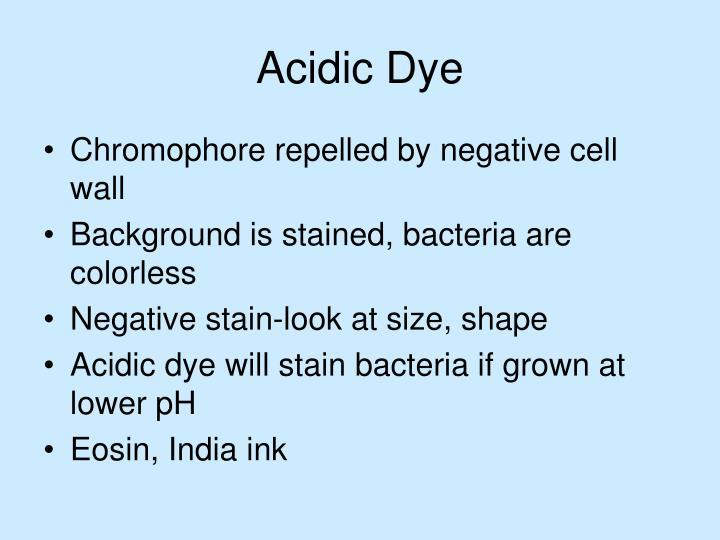 Acidic Dye