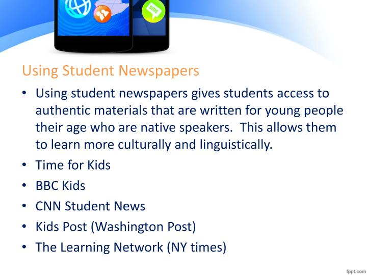 Using Student Newspapers