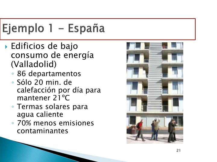 Ejemplo 1 - España