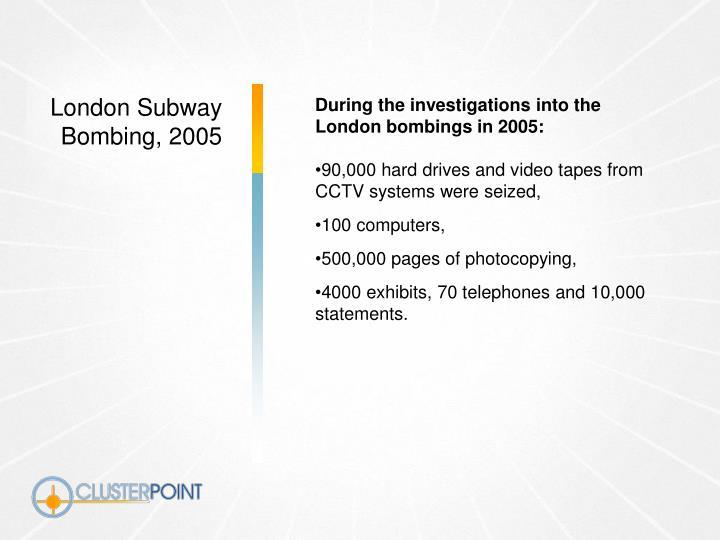 London Subway Bombing, 2005