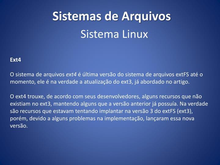 Sistema Linux
