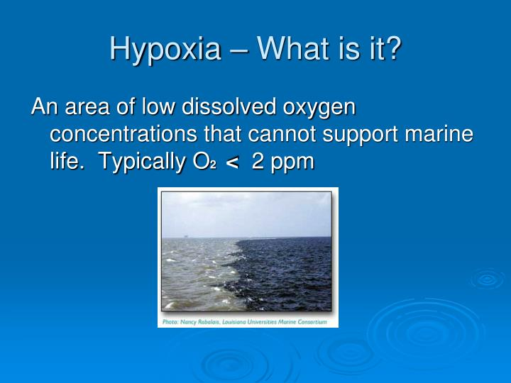 Hypoxia – What is it?