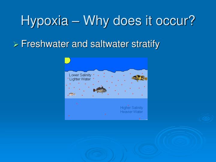 Hypoxia – Why does it occur?