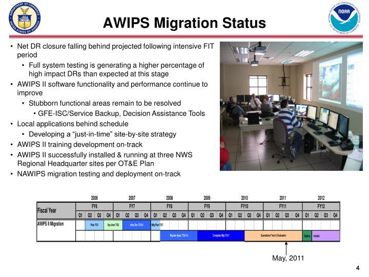AWIPS Migration Status