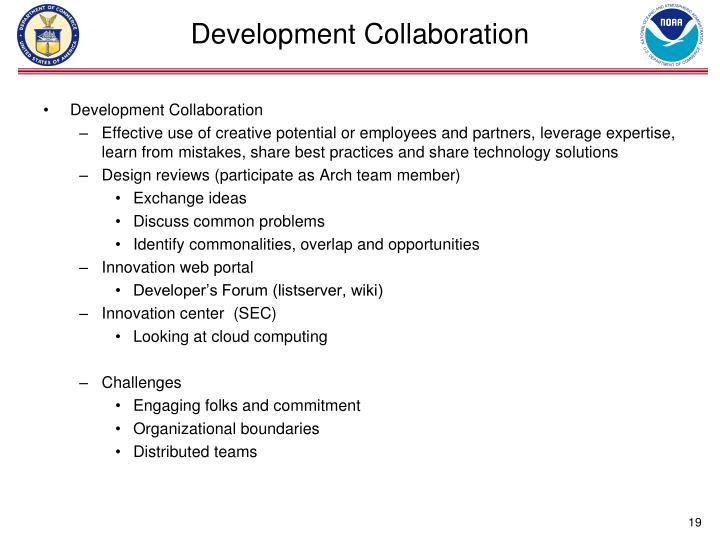 Development Collaboration