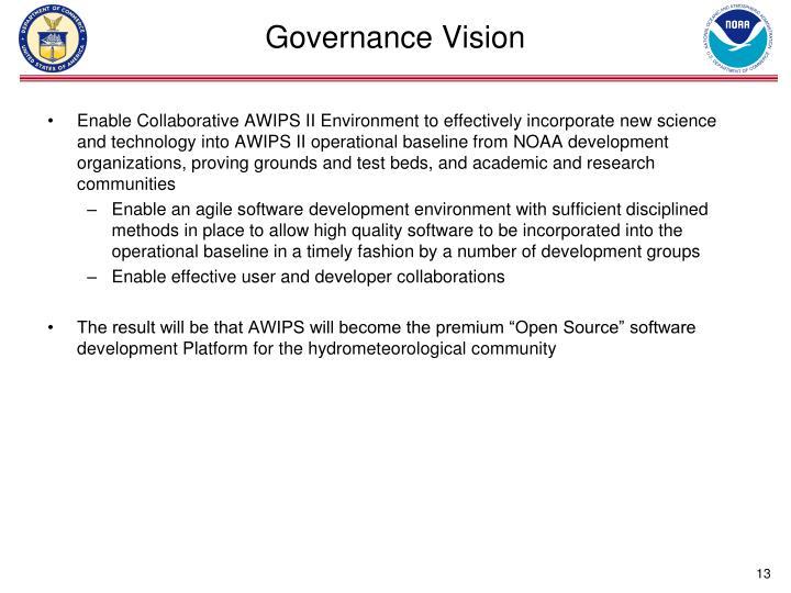 Governance Vision