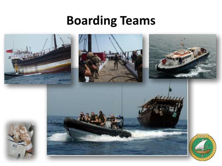 Boarding Teams
