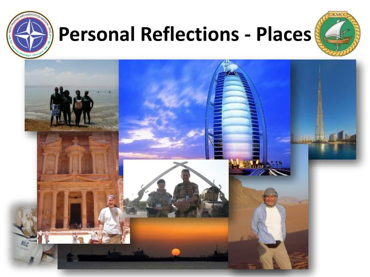 Personal Reflections - Places