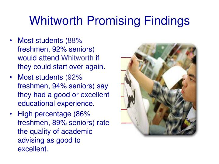Whitworth Promising Findings