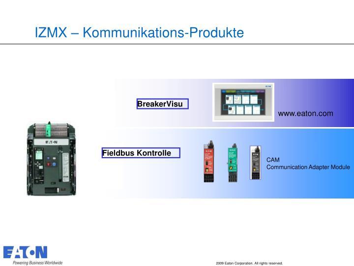 IZMX – Kommunikations-Produkte