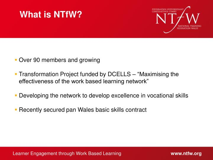What is NTfW?