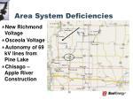 area system deficiencies2
