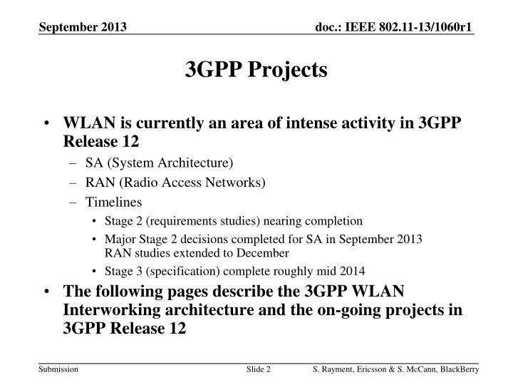 3gpp projects