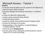 microsoft access tutorial 111