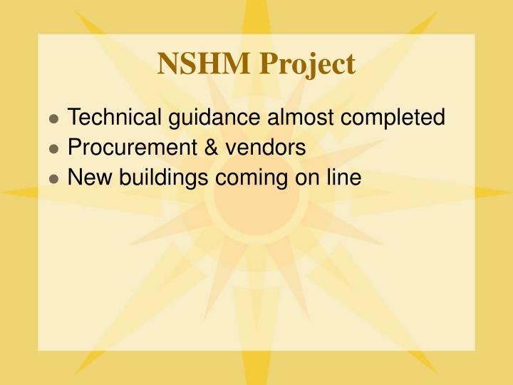 NSHM Project