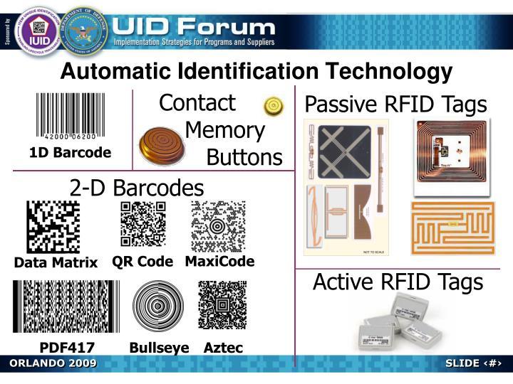 Automatic Identification Technology