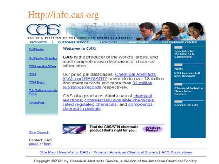 Http://info.cas.org