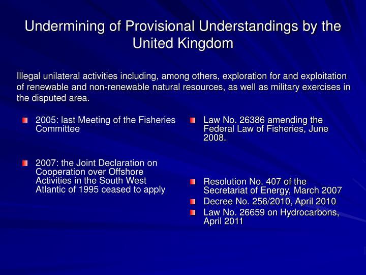 2005: last Meeting of the Fisheries Committee