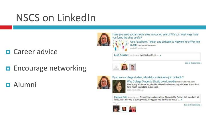 NSCS on LinkedIn
