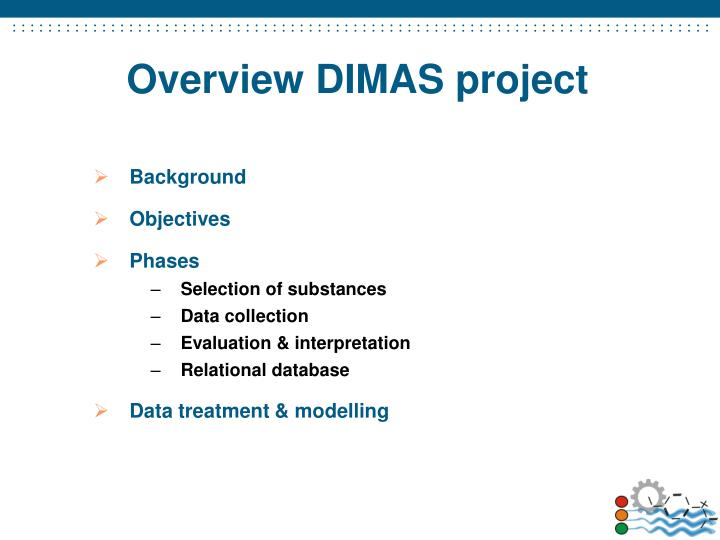 Overview dimas project