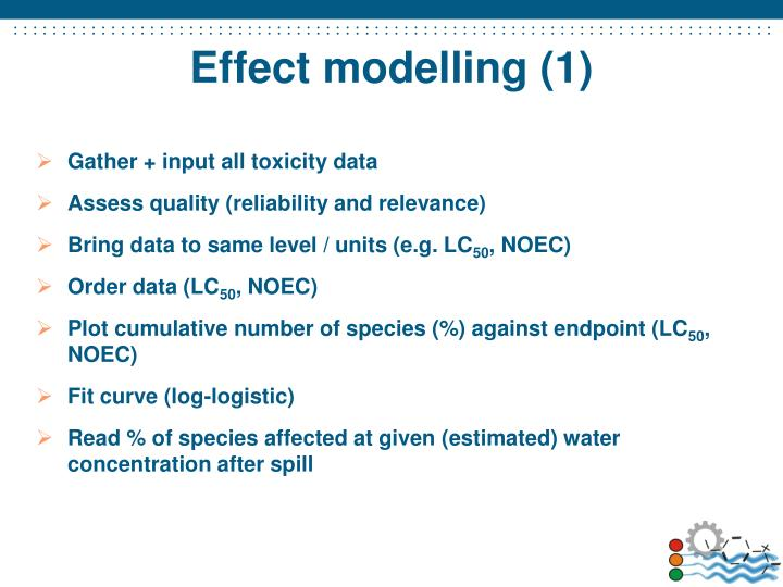 Effect modelling (1)