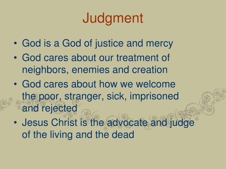 Judgment