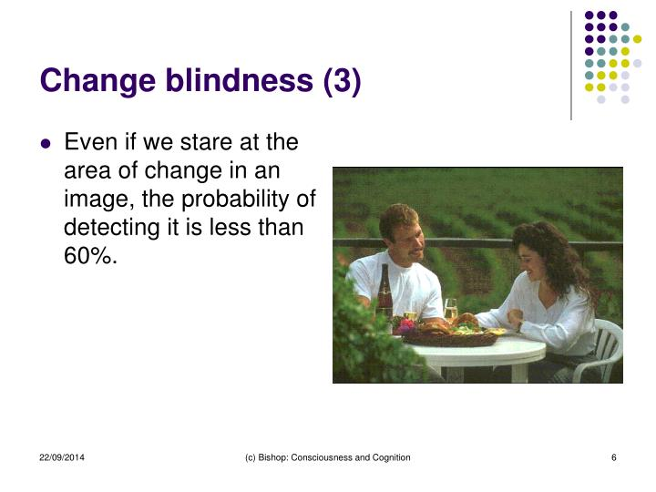 Change blindness (3)