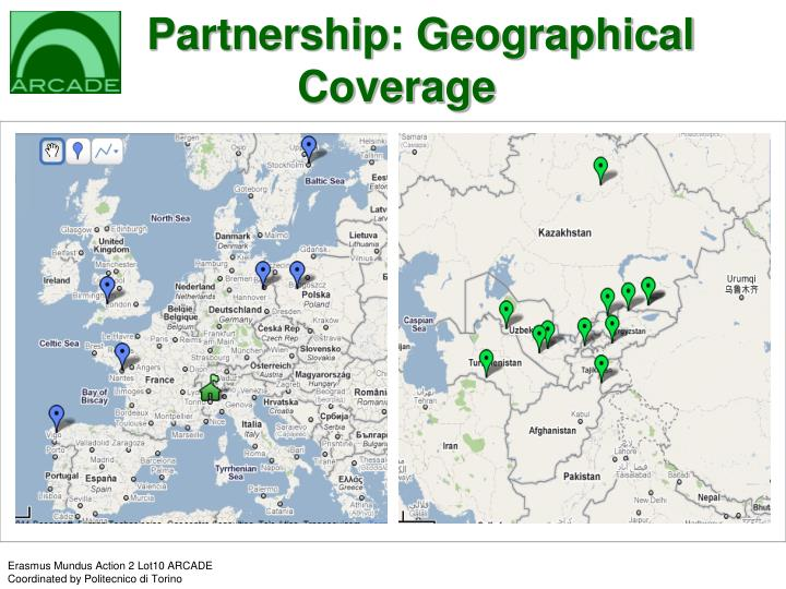 Partnership: Geographical    Coverage